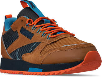 Reebok Men Classic Leather Ripple Trail Sneakers from Finish Line