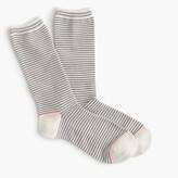 J.Crew Striped trouser socks