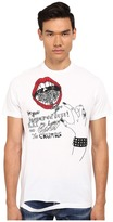 DSQUARED2 Long Cool Twisted Ripped T-Shirt