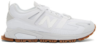 New Balance White XRCT Sneakers