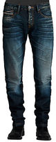Cult of Individuality Greaser Straight Aston Wash Jeans