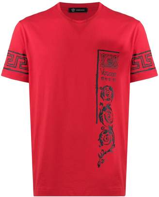 Versace signature brand logos T-shirt