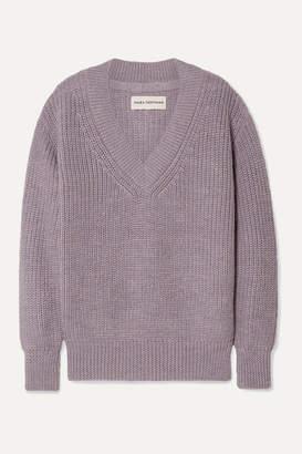 Mara Hoffman Revel Alpaca Sweater - Lavender