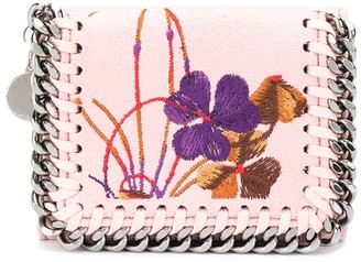 Stella McCartney floral Falabella wallet