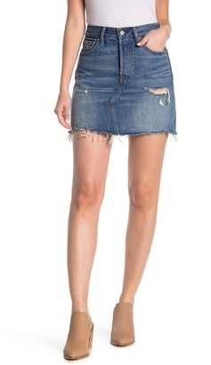 Levi's High Rise Decon Iconic BF Skirt
