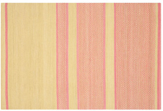 One Kings Lane Jola Kids' Rug - Lime/Pink - 5'x8'