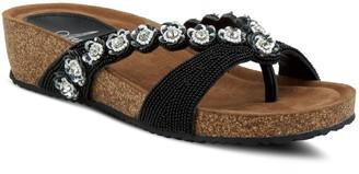 Spring Step Azura By Slip-On Leather Sandals -Mattosa