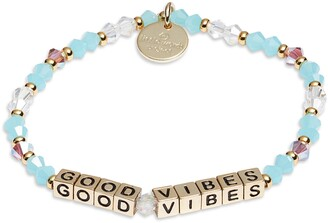 Little Words Project Good Vibes Stretch Bracelet