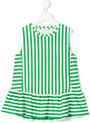 Wolf & Rita Striped Sleeveless Blouse