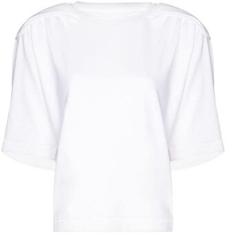 REMAIN Verona shoulder-pad T-shirt