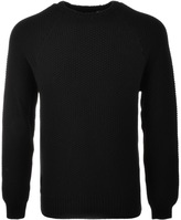 Luke 1977 3D Vision Knit Jumper Black