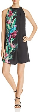 Tommy Bahama Paradiso Parrots Printed Mini Dress