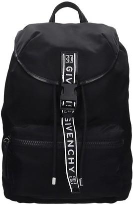 Givenchy Light 3 Backpack In Black Nylon