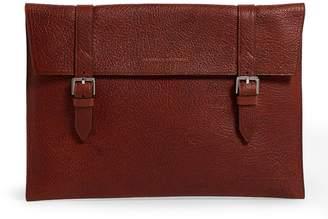 Brunello Cucinelli Leather Document Case