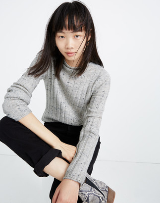 Madewell Donegal Evercrest Turtleneck Sweater in Coziest Yarn