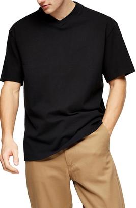 Topman Solid V-Neck T-Shirt