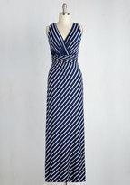 Gilli Inc Adore County Dress in Cobalt Stripes