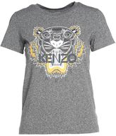 Kenzo Tiger-printed Cotton T-shirt