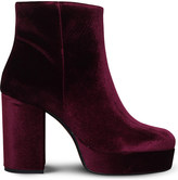 Carvela Swedish velvet ankle boots