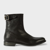 Paul Smith Women's Black Leather 'Thunder' Boots