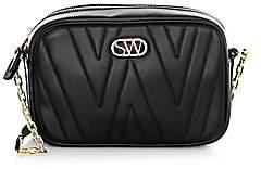 Stuart Weitzman Women's Reana Leather Camera Bag