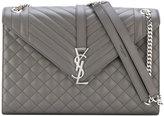 Saint Laurent monogram envelope bag - women - Calf Leather - One Size