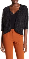Ella Moss Beaded Dolman Short Sleeve Jacket