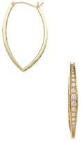 Ila Abrienne 14K Yellow Gold & 1.37 Total Ct. Diamond Hoop Earrings