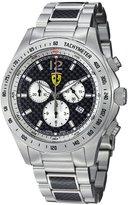 Ferrari Men's FE-07-ACC-CM-FC Two-Tone Stainless-Steel Analog Quartz Watch with Grey Dial