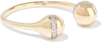 Adina 14-karat Gold Diamond Ring