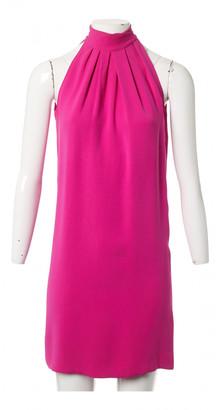 Christian Dior Pink Silk Dresses