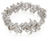 Kenneth Jay Lane Basket Weave Deco Bracelet