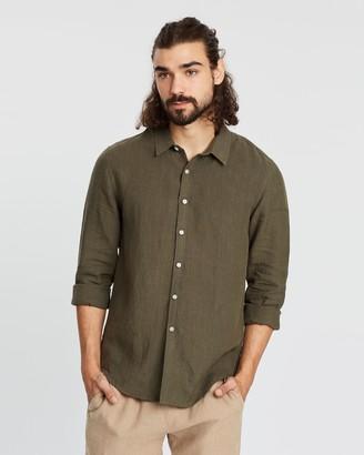 Aere LS Linen Shirt