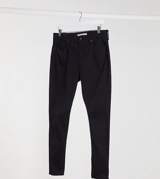 Levi's Plus 310 shaping super skinny jeans in black