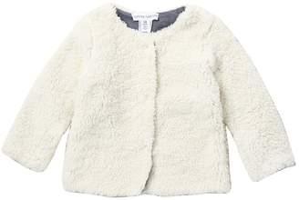 Harper Canyon Faux Fur Plush Lined Jacket (Baby Girls)