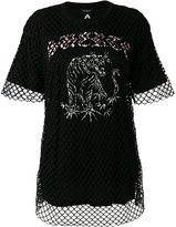 Marcelo Burlon County of Milan Marena T-shirt - women - Cotton/Spandex/Elastane - XS