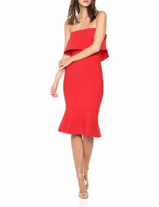 LIKELY Women's Conrad Fitted Strapless Dress