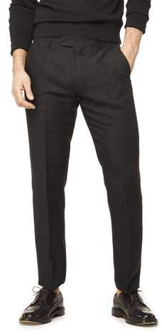 Todd Snyder Linen Tab Trouser in Black