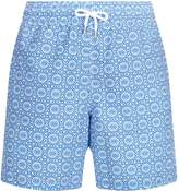 Derek Rose Mosaic Print Swim Shorts