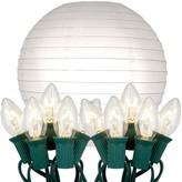 Lumabase LumaBase 10-pk. Paper Lantern & String Lights Set