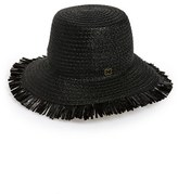 Eric Javits Women's 'Tiki' Bucket Hat - Black