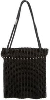 Helmut Lang Crochet Shoulder Bag