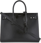 Saint Laurent Patent grained leather tote bag