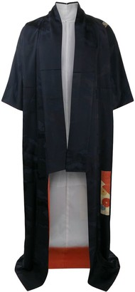 A.N.G.E.L.O. Vintage Cult 1990s Cloud Pattern Kimono Coat