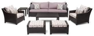 Three Posts Northridge 8 Piece Sofa Seating Group with Cushions