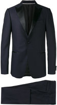 Z Zegna peaked lapel two-piece suit - men - Cupro/Wool - 50