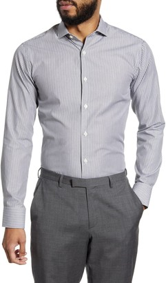 Tiger of Sweden Slim Fit Stripe Dress Shirt