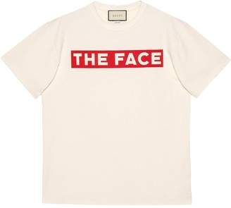 """Gucci Oversize T-shirt with """"The Face"""""""