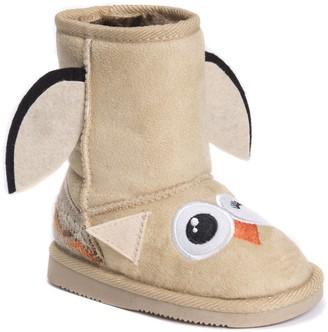 Muk Luks Unisex-Kid's Uno Owl Boots Fashion
