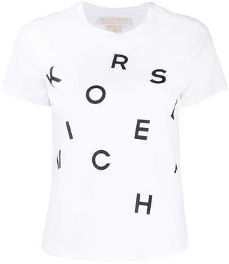 MICHAEL Michael Kors printed logo T-shirt